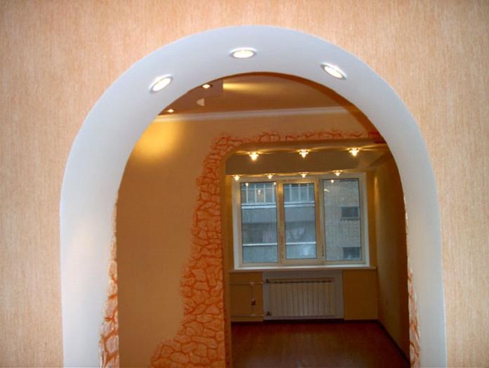 Классическая арка