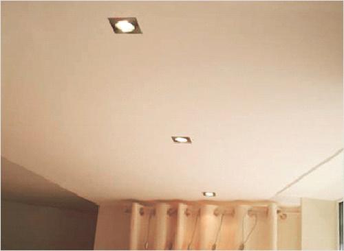 потолки из гипсокартона фото простые 13