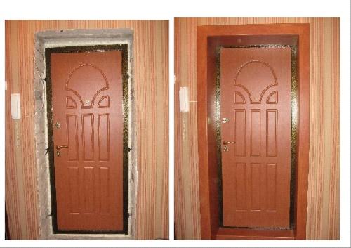 Двери с откосами и без