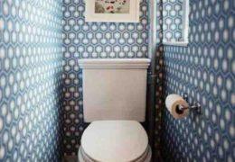 Гипсокартонные стены в туалете
