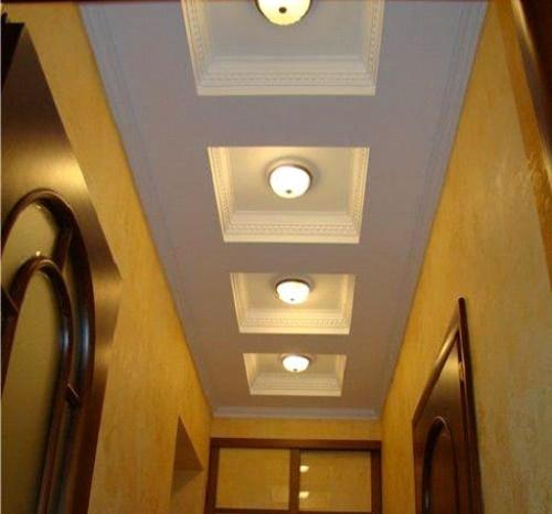Гипсокартонный потолок с несколькими уровнями