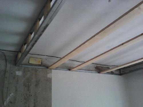 Профиля на потолке