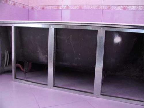Каркас под ванной