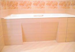 Гипсокартонный экран для ванны