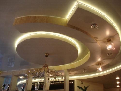 Полностью готовый потолок