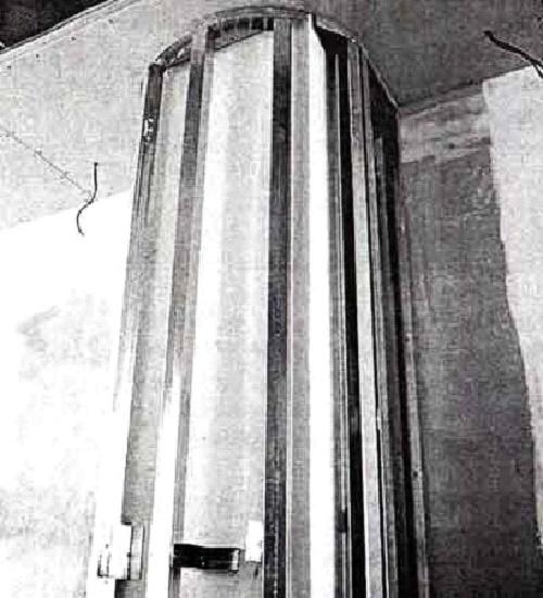 Какркас будущей колонны