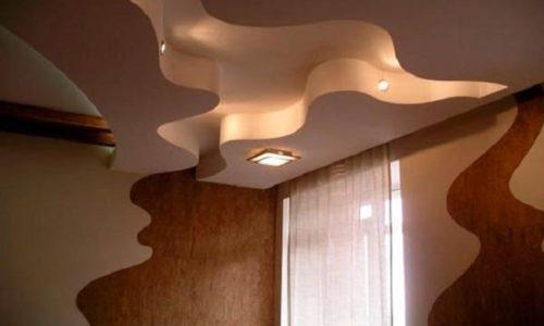 Волнистый потолок