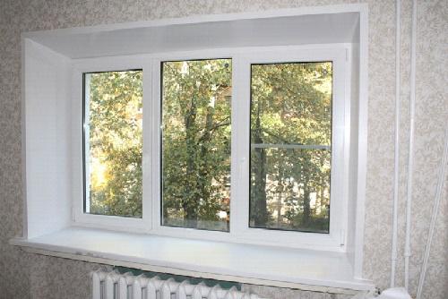 Окно и откосы