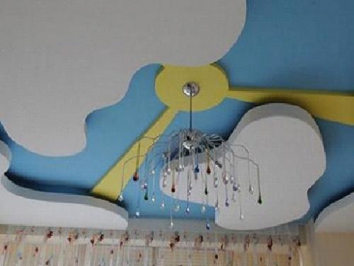 Готовый потолок в детской