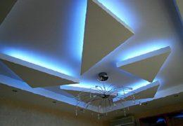 Потолок со скрытым освещением