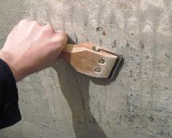 Отчистка старого покрытия