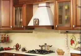 Гипсокартонная вытяжка для кухни