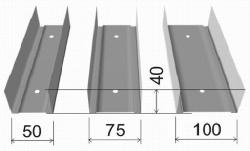 Профили разных размеров
