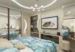 Комната отделанная гипсокартоном