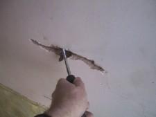 Трещина на потолке