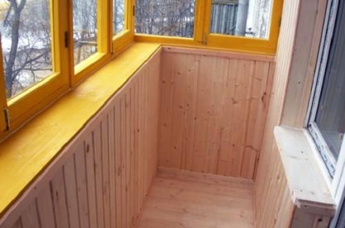 Применение на балконе