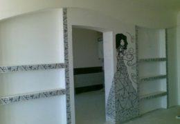 Стена с узором