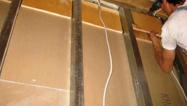как укрепить шкафы под гипсокартон