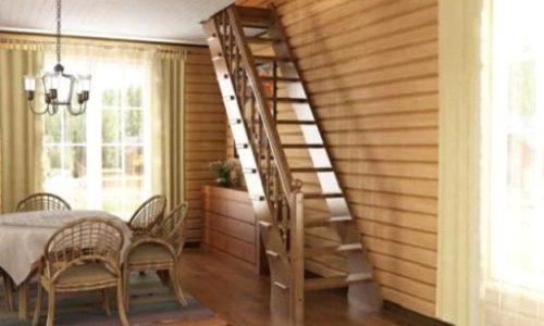 Обшивкеа лестниц