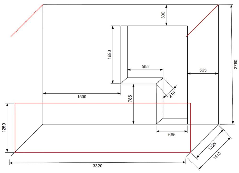 Проект чертеж балкона. - остекление лоджий - каталог статей .