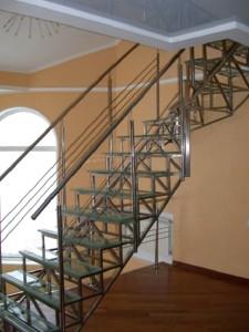 Каркас будущей лестницы