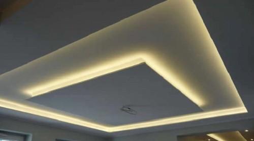 Скрытая подстветка на потолке