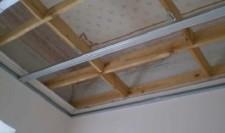 Металлическая обрешетка потолка