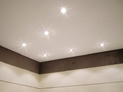 Простой вариант потолка