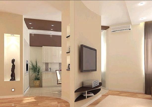 Комната с фальш-стеной
