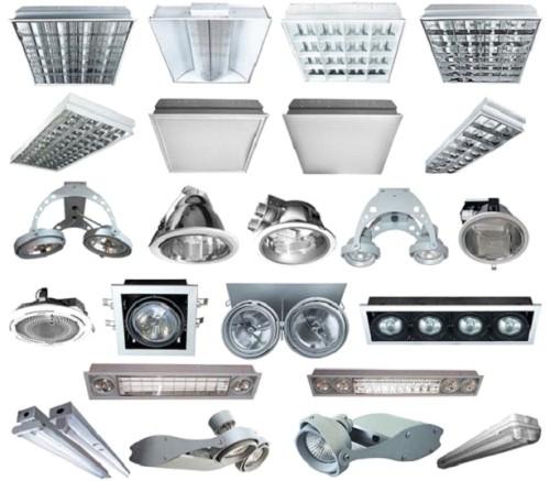 Разнообразие осветительных приборов