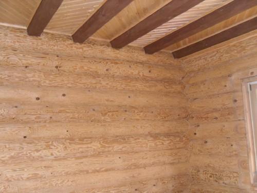 Деревянная комната