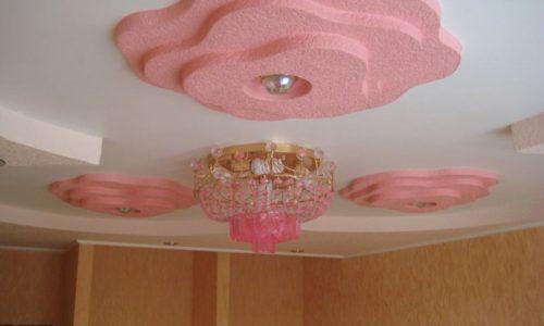 Подвесной потолок в комнате