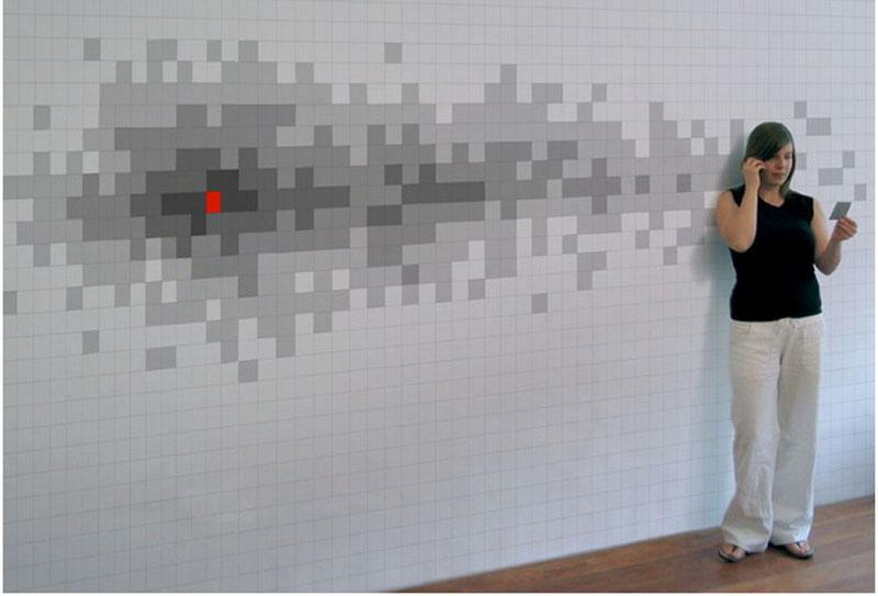 «Пиксельные» стикеры