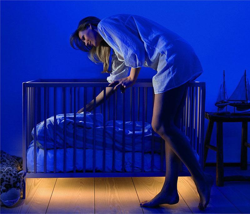 Освещение детской кроватки