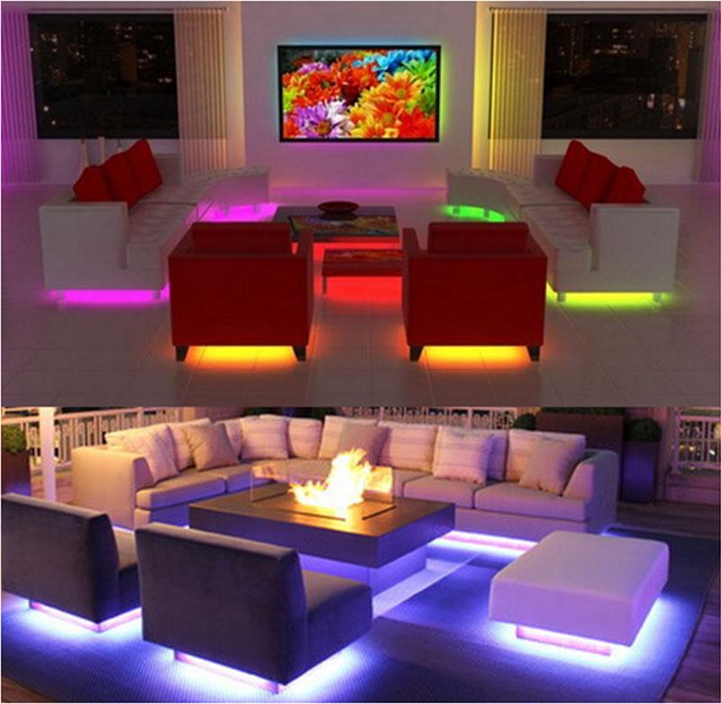 Подсветка мебели