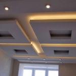 Парящая конструкция потолка