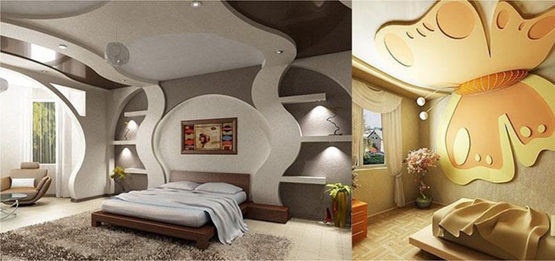 Вытягивающие конструкции в комнате