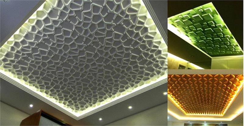 Объёмные 3D панели